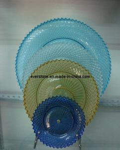 Handmade Glass Plate Set