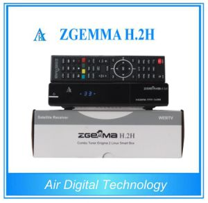 Bcm7362 Dual Core Zgemma H. 2h Combo Decoder Support SD/TF Card pictures & photos