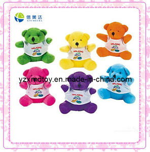 Plush Bear with Printing T-Shirt pictures & photos