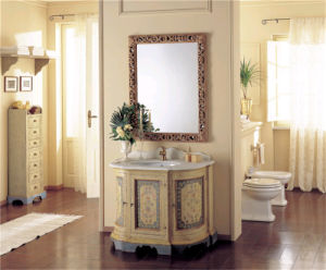 PVC MDF Plywood Solid Wood Bathroom Cabinet Sanitary Ware