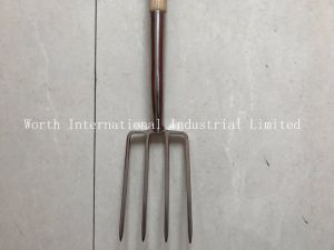 Small Fork Head with T Wood Handle pictures & photos