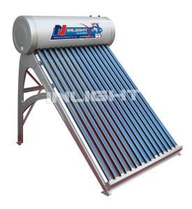 Silver Fluorocarbon (PVDF) Plate Solar Water Heater (INLIGHT-A) pictures & photos