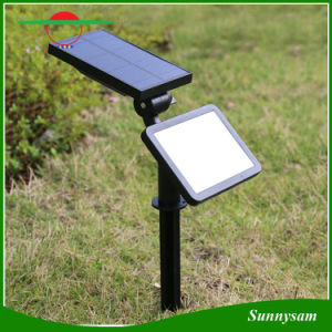 48 LEDs Solar Microwave Radar Motion Sensor Light IP65 Waterproof Wall Mount Landscape Insert Solar Garden Light pictures & photos