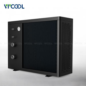 Plastic Shell Air to Water Inverter Swimming Pool Heat Pump Water Heater pictures & photos