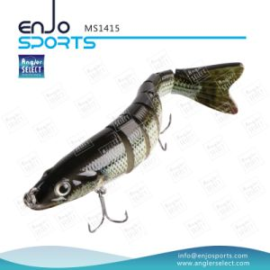 Multi Jointed Fishing Life-Like Lure Bass Bait Swimbait Shallow Hard Lure Fishing Gear pictures & photos