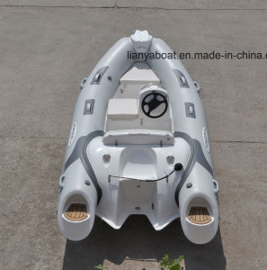 Liya 3.8m Inflatable Boat Manufacturers PVC Rib Boat China pictures & photos
