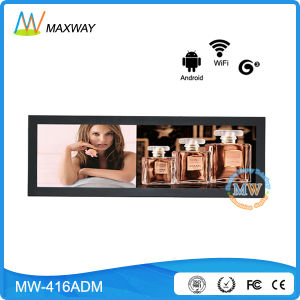 Network Android 41.5 Inch Bar Ultra-Wide LCD Advertising Display (MW-416ADN) pictures & photos