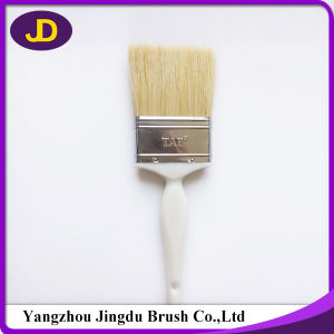 "1-4"" White Bristle Plastic Handle Paint Brush pictures & photos"