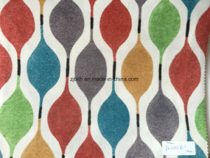 New Printed Velvet Fabric Sofa Fabric Bonded T/C Fabric pictures & photos
