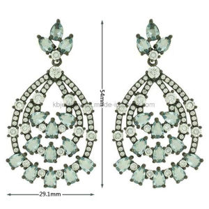 Best Quality Beatiful Hanging Earrings Jewelry for Party (KE3134) pictures & photos