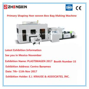 Non Woven Laminated Reusable Bag Making Machine (Zx-Lt400) pictures & photos