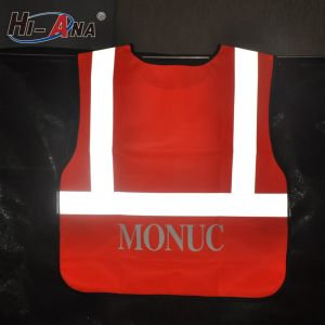 Using Eco-Friendly Materials High Intensity Pink Safety Reflective Jackets pictures & photos