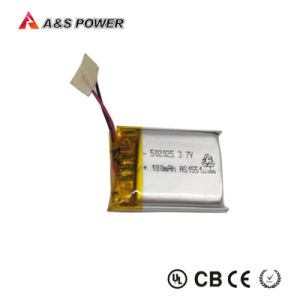 Rechargeable UL CB Kc 401230 3.7V 120mAh Lithium Battery pictures & photos