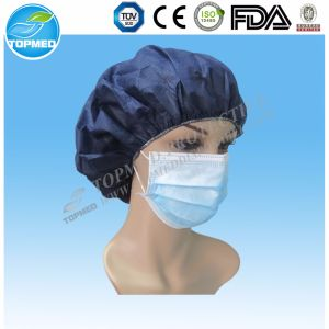 Purpel Face Mask with Earloop in Nonwoven Fabric pictures & photos