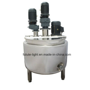 1000 Liter Stainless Steel Body Lotion Mixing Tank pictures & photos