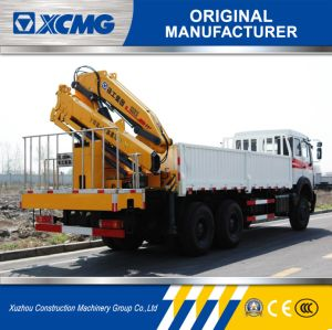 XCMG Official Newest 5 Ton Folding-Arm Truck Mounted Crane pictures & photos