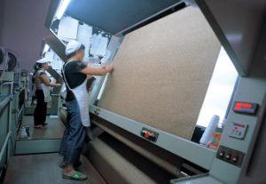 Printed Velvet Fabric Sofa Fabric Bonded T/C Fabric pictures & photos