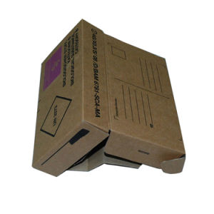 Brown Corrugated Mailer Packaging Box Without Glue pictures & photos