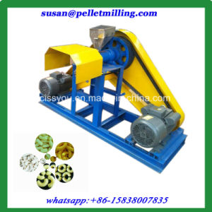 Sell Rice Corn Flour Powder Puffed Snack Food Extruder Machine pictures & photos