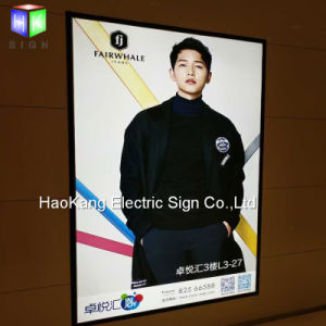 Aluminum Snap Frame LED Light Box Picture Frame Sign for Wall Mounted Advertising Display pictures & photos