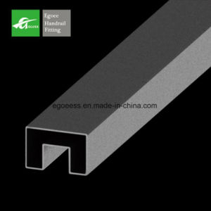 SS304 Stainless Steel Slot Tube for 12-16mm Glass pictures & photos