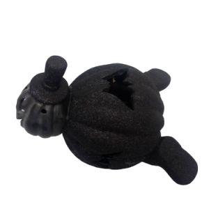 Ceramic Halloween Decor Black Pumpkin Ghost Crafts pictures & photos