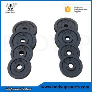High Quanlity Black Paint Cast Iron Weight Plates