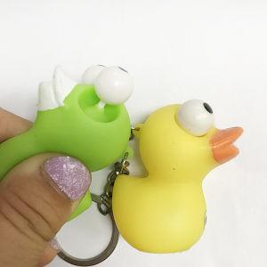 Various Cartoon Duck Plastic Multi Key Chains pictures & photos