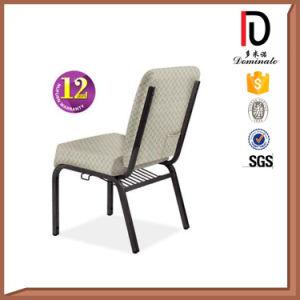 Brown Fabric Cushion Steel Leg Church Chair Br-J043 pictures & photos