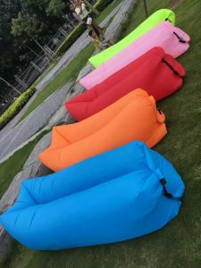 10 Second Fast Infltable Air Sleeping Lounge Bag for Office Rest pictures & photos