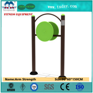 2017 New TUV Outdoor Fitness Equipment (Arm Wheels) pictures & photos