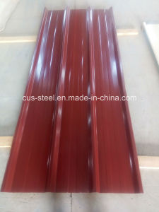 Ibr Metal Roofing Steel Sheet with PPGI/Trapezoidal Color Coated Roof Sheet pictures & photos