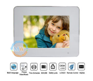 Promotion Gift 8 Inch Digital Photo Frame Remote Control (MW-0810DPF) pictures & photos