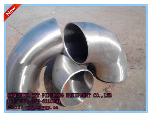 Polished Sanitary Stainless Steel Butt 30 Degree Welded Elbow pictures & photos