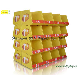 Supermarkets Counter PDQ Display Stand with Cmyk Artwork with SGS (B&C-C025) pictures & photos