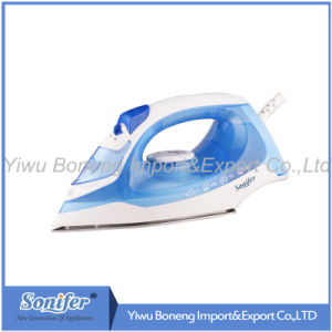 Hot-Selling Travelling Steam Iron Electric Iron Sf-9008 with Ceramic Soleplate (Purple) pictures & photos