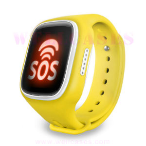 GPS/GSM/WiFi/Lbs Postioning SIM Card Sos Smart Watch for Kids for Android pictures & photos