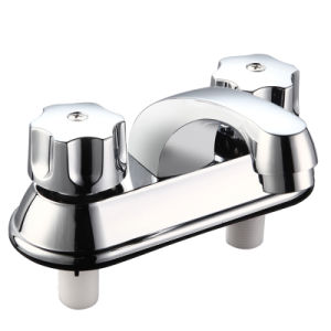 Double Handle 4 Inch Faucet for South-American Market pictures & photos