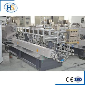 WPC Plastic Granules Extrusion Machine with Air Cooling Line pictures & photos