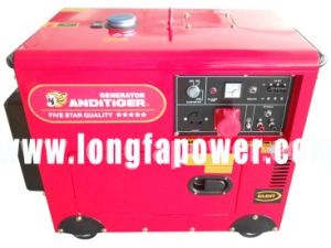 Ce Approved 5kw 5kVA Home Use Silent Diesel Generator pictures & photos