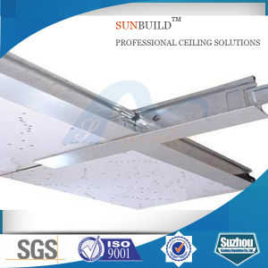 Acoustic Mineral Fiber False Ceiling (595*595, 595*1195, 603*603, 603*1212mm) pictures & photos