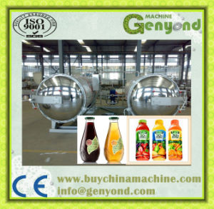 Spray Type Fish Canned Food Autoclave Sterilizer pictures & photos