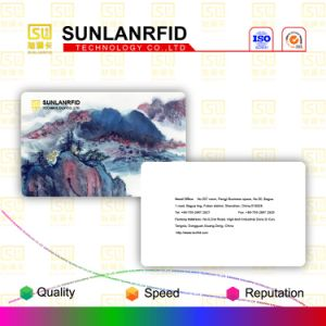 Sunlanrfid Irregular Shape Nfc Epoxy Smart Card pictures & photos