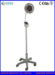 China Supply Hospital Stand Shadowless LED Operating Exam Surgical Lights pictures & photos