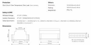 DMX Constant Voltage Dimmable 12V DMX LED Driver DMX-36-12-F1d1 pictures & photos