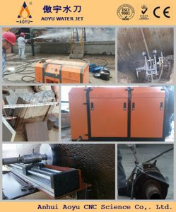 Portable/ Mobile Water Jet Cutting Service Water Jet Cutter pictures & photos