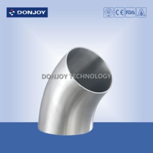 Stainless Steel Elbow 45 Degree for Food Processing Pipe pictures & photos
