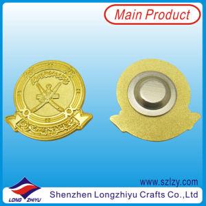 UAE Souvenir Badge Gold Custom Badge 3D Leader′s Face Image pictures & photos