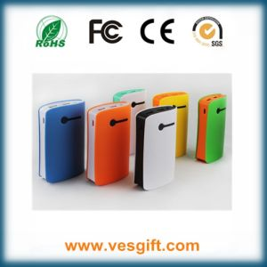 Full Capacity 6600mAh Waistline Portable Phone Charger pictures & photos