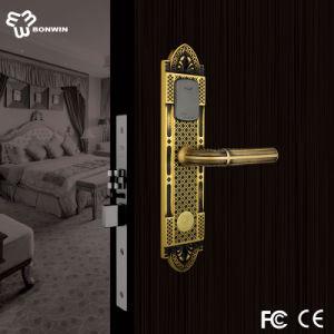 Beautiful and Elegent Euro Type Electronic Hotel Door Lock pictures & photos